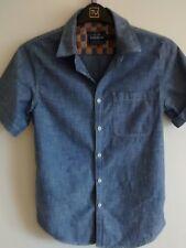 Camisa de Color Caballeros Algodón Denim pecho 36-38 de Topman