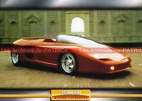 FERRARI Mythos Pininfarina 1989 : Fiche Auto Collection