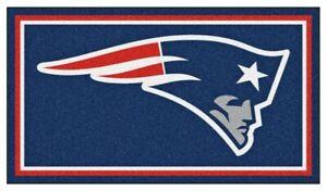 New England Patriots 3'x5' Ultra Plush Area Rug E132432