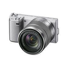 Sony Alpha NEX-5N 16.1MP Digital Camera - silver (Kit w/ E 18-55mm F3.5-5.6 OS