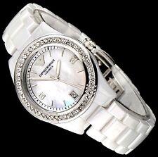 Emporio Armani Damen Ceramica Uhr AR1426-Nagelneu mit Zertifikat