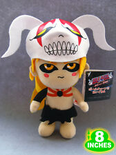 8'' Bleach Ichigo Hollow Plush Anime Stuffed Doll Toy Game Halloween BLPL2400