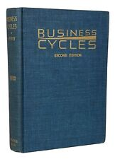 New listing 1950 Nature & Cause of Business Cycles ~ Signed x2 ~ Wall Street ~ Stock Market