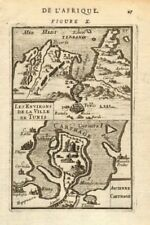 TUNISIA. Ancient Carthage. Tunis environs. 'Ancienne Carthage'. MALLET 1683 map