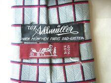 HERMES Krawatte Tie 100% Soie, Seide f. Adlmüller gemacht, vintage France