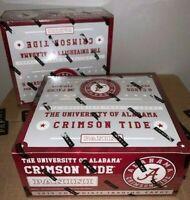 (2) 2015 Panini Alabama Crimson Tide Hobby Box 24 Pack Factory Sealed