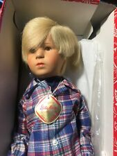 "KATHE KRUSE PUPPE 21"" Gary 1977-78 Catalog With Box"