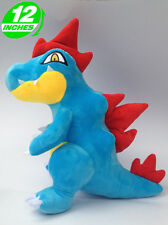 Big 12 inch 30CM Pokemon Feraligatr Stuffed Doll Soft PNPL6154