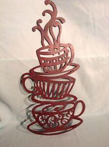 TIN HOT COFFEE CUPS