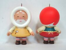Vintage Hallmark 2011 Frosty Friends Mystery Ornament Toymaker Santa*Loose