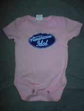 American Idol Girls 3-6 M Pink Snap Bottom