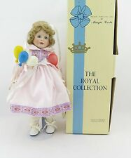 """Vintage """"Shelby"""" Porcelain BIRTHDAY Doll The Royal Collection by Margie Costa"""
