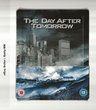 THE DAY AFTER TOMORROW - UK EXCLUSIVE BLU RAY STEELBOOK - NEW & SEALED