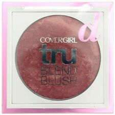 covergirl tru blend blush 305 deep mauve new sealed