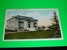 Public Library, Calgary Alberta Postcard Canada
