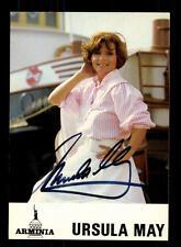 Ursula May Autogrammkarte Original Signiert ## BC 88728