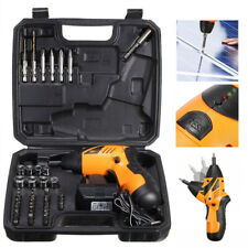 45 Power Tool Rechargeable Cordless Electric Screwdriver Drill Kit Set Wireless