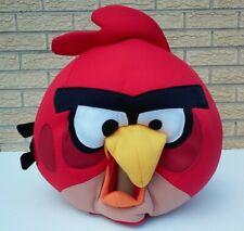 ANGRY BIRDS RED BIRD ADULT MASK FANCY DRESS HALLOWEEN COSTUME PLUSH