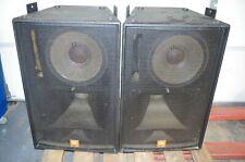 Pair of JBL SR4735X  High Power Concert Speakers