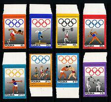 Olympics Polish Stamps