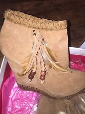 Chinese Laundry Tan Suede Ankle Boots 39/6 RRP £140