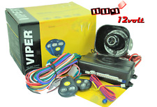 Viper 3100V 3-Channel 1-Way Car Security Alarm W/2 Remotes Shock Sensor & Siren