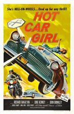 Hot Car Girl Movie Poster 24inx36in