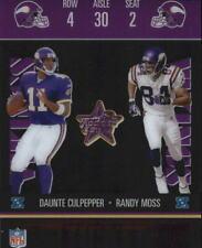 2003 Leaf Rookies and Stars Ticket Masters Card #TM4 Randy Moss/Culpepper
