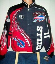 Buffalo Bills Red Zone Adult Twill Jacket - Adult Small Free Shipping