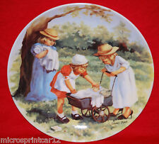 """""""Office Hours"""" 1984 Jeanie Downs Collectors Plate"""