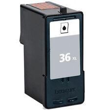 LEXMARK #36XL HY Black 18C2170 REMAN Ink Cartridge 36 XL For X6650 X6675