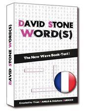 David Stone Words Neuf - Tour De Magie Mentalisme - Booktest Mots Mêlés