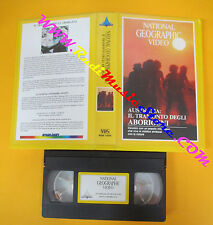 VHS film AUSTRALIA IL TRAMONTO ABORIGENI NATIONAL GEOGRAPHIC VIDEO (F3)no dvd