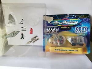 NIB Lot Star Wars Micro Machines X-Ray Fleet & Rebel vs Imperial Forces Gift Set