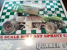 STEVE KINSER DIRTY RACED VERSION QUAKER STARE 1:25 SPRINT CAR GMP HOOSIER R&R