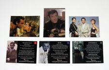 1996 Inkworks James Bond Connoisseur's Collection Vol 1 2 & 3 Promo Card Set (3)