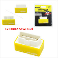 New Nitro OBD2 Performance Tuning Chip Box For Gas/Petrol Vehicles Plug & Drive