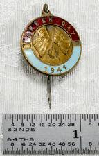 Original Wwii 'Greek Day' Pin Australia Fund Drive Battle Of Greece 1941