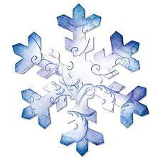Sizzix Bigz Snowflake #3 die #A10690 Retail $19.99 Cuts Fabric!!