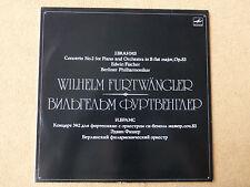 Brahms - No. 2 Op.83 - Berlin - Furtwängler - Fischer - MELODIA  (01354)