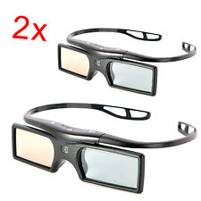 2x RF Active Shutter 3D Glasses Replacement for Sony TV TDG-BT400A TDG-BT500A