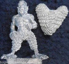 1990 Maschi Harpy 3 Citadel IRON CLAW Bob OLLEY WARHAMMER ESERCITO D&D caos harpys GW
