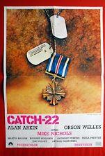 CATCH 22 JON VOIGHT ART GARFUNKEL ORSON WELLES 1970 RARE EXYU MOVIE POSTER