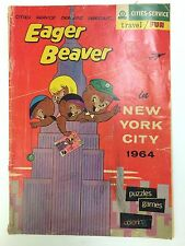 Eager Beaver in New York City Comic Book Cities Service 1964