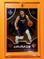 Luka Doncic CRUSADE HOT MAVS INVESTMENT PANINI CHRONICLES EMBOSSED CARD - Mint!