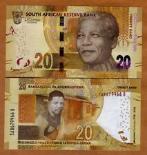 South Africa, 20 Rand, 2018 P-New UNC > Commemorative Mandela Centennial