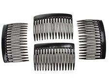 7cm Black Side Hair Combs Clips Slides Hair Accessories Hair Accessories UK