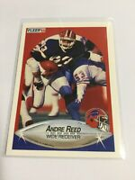 1990 Fleer Andre Reed Buffalo Bills #119 Football Card Free Shipping F229