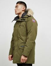 CANADA GOOSE MENS KHAKI LANGFORD JACKET MILITARY GREEN PARKA NEW sz. L