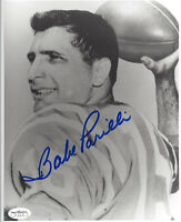 PATRIOTS Babe Parilli signed photo 8x10 AUTO JSA SOA Autographed Boston